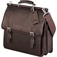 Kenneth Cole® Colombian Leather Weekender Duffel by Superdeals