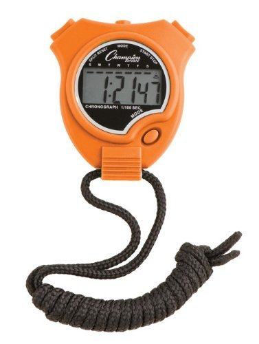 Champion Sports Stopwatch Color: Orange (910OR)