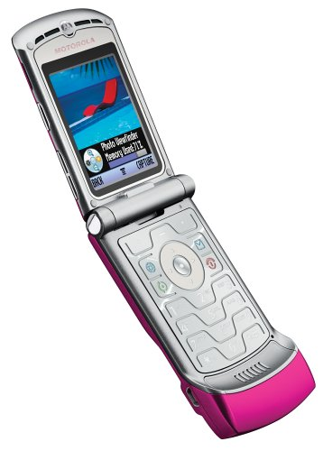Motorola V3 Sim Free new mobile phone Pink