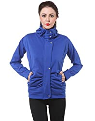 Purys Blue Winter Fleece Jacket