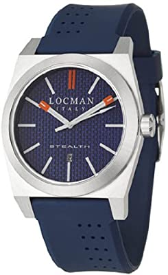 Locman Sport Stealth Men's Quartz Watch 201BLKVL