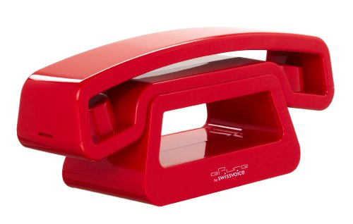 Swissvoice ePure - DECT 6.0 Design Home Cordless Telephone-Red