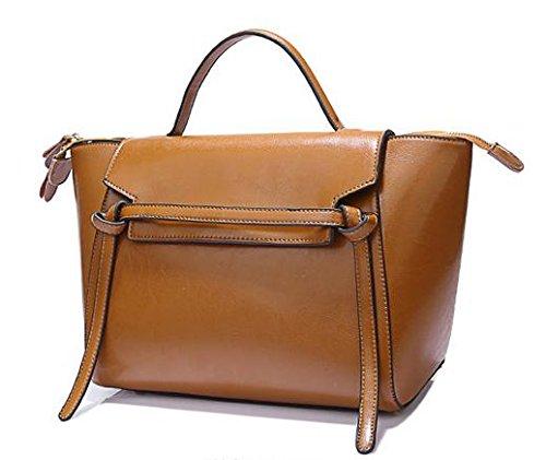 GQ-WOMEN BAG Modo selvaggio cera del 2016 nuovo pelle donna borsa handbag shoulder bag , 4