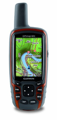 Garmin GPSMAP 62S Handheld GPS Navigator