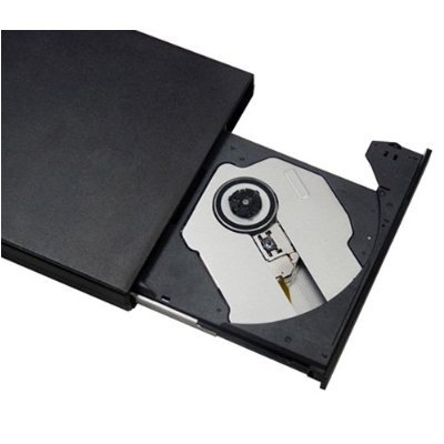 NEW USB 2.0 Superficial DVDRW DVD DVDRW CD+RW CDRW Drive Writer Burner (DVD CD Burner) Drive For Acer Aspire One 8.9inch (all) mini laptops and Acer Aspire One AO751h AOA110 AOA150 AOD150 AOD250 seires Netbooks