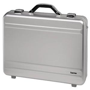 hama malette pc aluminium silver alu 17 00011184 amazon. Black Bedroom Furniture Sets. Home Design Ideas