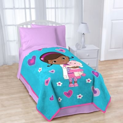 Disney Doc Mcstuffins Fleece Character Throw - 1