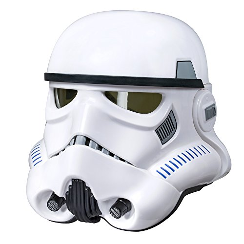 Star Wars The Black Series Imperial Stormtrooper Electronic Voice Changer Helmet - 41FVMssKN9L - Star Wars The Black Series Imperial Stormtrooper Electronic Voice Changer Helmet
