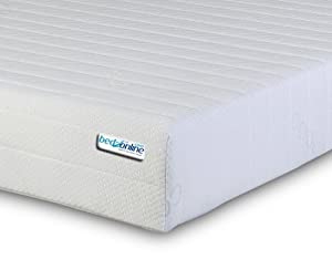 4ft6 Double Memory Foam And Reflex Mattress With Border Miqro Quilted Exclusive Cover To Bedzonline Uk Manufactured by BEDZONLINE