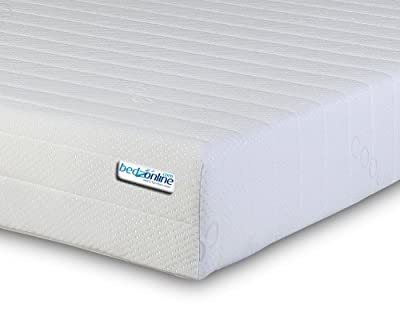 4FT6 Double Memory Foam and Reflex Mattress with Border Miqro Quilted Exclusive Cover