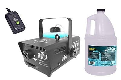 CHAUVET HURRICANE H-901 DJ Water-Based Smoke Fog Machine + FJU Gallon Fluid from Chauvet