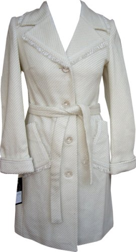 Buy High Quality Wool Coat – Shawl Collar Winter White Wool Ladies Coat