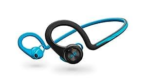 【国内正規品】 PLANTRONICS  Bluetooth スポーツ用ワイヤレスヘッドセット(ステレオイヤホンタイプ)  BackBeat Fit Blue BACKBEATFIT-BL