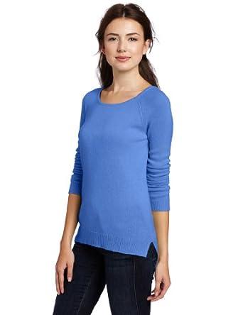 【纯正羊绒特惠】美国羊绒品牌Christopher Fischer 女士柔软圆领全100%纯羊绒衫 Karma色 $44.25