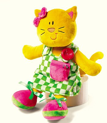 Bright Beginnings Activity Doll-Kitty Kat
