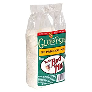 Bob's Red Mill Gluten-Free Pancake Mix, 22-Ounce Packages (Pack of 4) by Bob's Red Mill