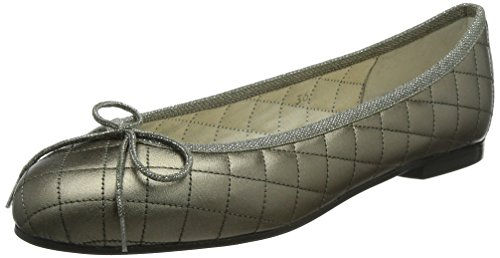 French Sole - Ballerine, Donna, Grigio (Pewter), 42 (Larghezza: D)