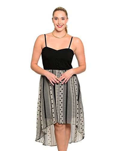 S.H.E. Plus Women's Sweetheart Midi Dress