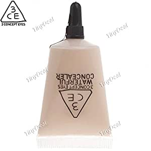 3CE 10ml Waterful Makeup Liquid Foundation Cream Lotion Concealer Art Cosmetics for Face HCIL-216490