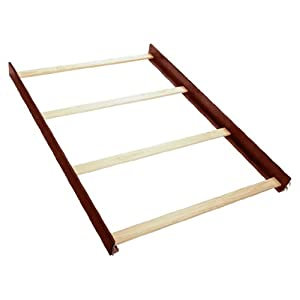 Simmons Kids Furniture Full Size Wood Bed Rails, Vintage Cherry