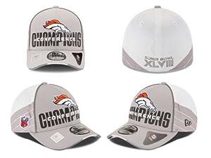 Denver Broncos Super Bowl XLVIII NFL Conference Champ 39-THIRTY Hat, Medium Large by Denver Broncos