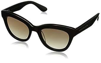 Marc by Marc Jacobs Women's MMJ350S Cateye Sunglasses, Black, 51 mm
