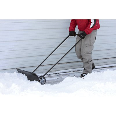 Wheeled Shovel - Get Rolling on Snow Removal