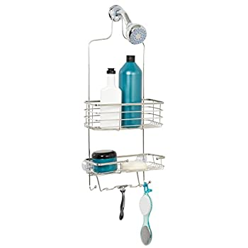Zenna Home 7704ST, Over-the-Showerhead Caddy, Stainless Steel