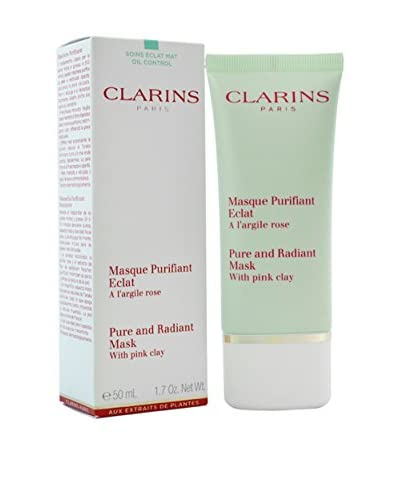 Clarins Pure & Radiant Mask with Pink Clay, 1.7 oz. As You See