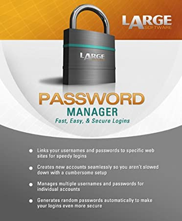Large Software: Password Manager