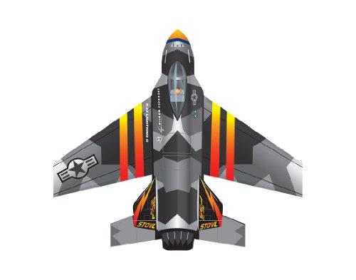 """WindNSun Microjet Mini Mylar 4.7"""" F-35 Lighting ll Wide Kite - 1"""