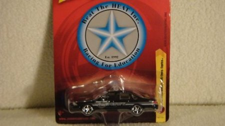 JOHNNY LIGHTNING 1:64 SCALE BEAT THE HEAT SERIES CAPT. FRANK WOODS'S 1995 CHEVY CAPRICE DIE-CAST POLICE CAR
