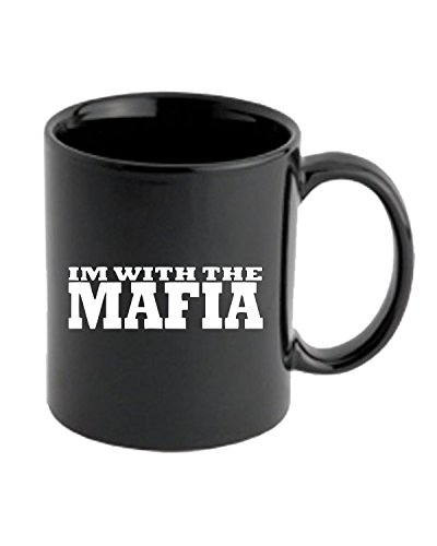 T-Shirtshock - Tazza 11oz OLDENG00529 i am with the mafia, Taglia 11oz
