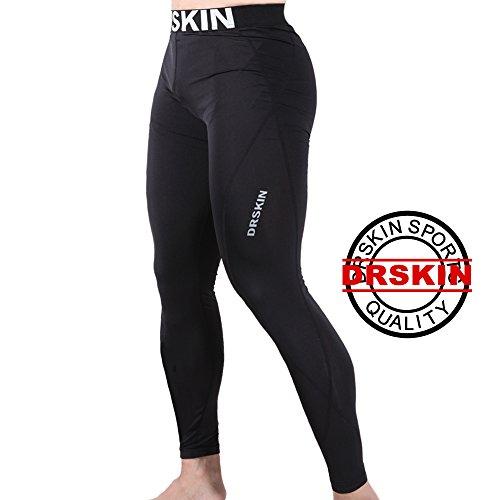 DRSKIN-DABB11-Compression-Tight-Pants-Base-Layer-Running-Leggings-Men-Women