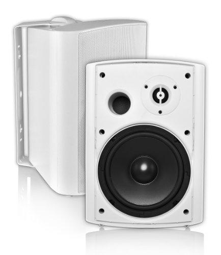 Osd Audio Ap650 White 6.5-Inch Indoor Or Outdoor 150-Watt Patio Speaker Pair