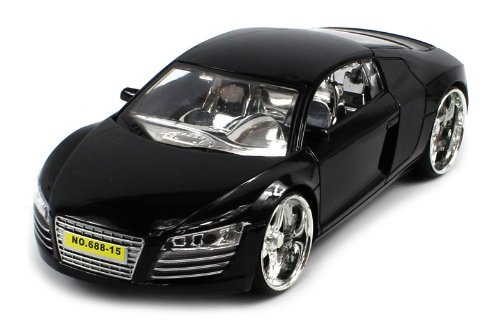 Audi R8 Electric Rc Car Srv Series 1:24 Rtr (Colors May Vary)