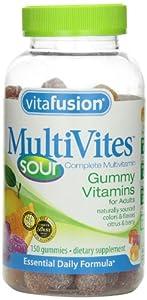 Vitafusion MultiVites Sours Gummy Vitamins, 150 Count