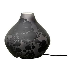 Table lamp, grey