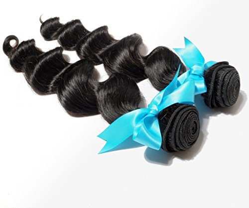 Danolsmann-Hair-Professional-100-Human-Hair-Weave-2bundles-200g-Indian-Virgin-Hair-Loose-Wave-Hair-Extension-Weft-Natural-Black-Color