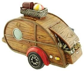 Camper Coin Bank, 6.5-inch - 1