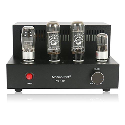Nobsound® Tube Amplifier NS-13D with 2 Vacuum Tube of EL34 , Hi-Fi, 100% Handmade