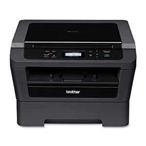 Brother Wireless Monochrome 3 in 1 Laser Printer with Scanner & Copier, Dark Grey (HL2280DW) (Discontinued by Manufacturer)