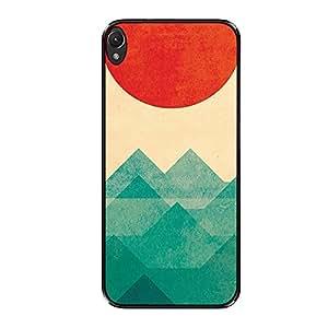 Vibhar printed case back cover for Lenovo K3 Note sunoceanwaves