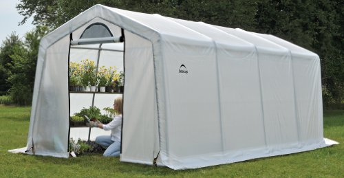 ShelterLogic GrowIT Series Greenhouse-In-A-Box, Clear, 10 x 20 x 8-Feet
