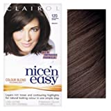 THREE PACKS of Clairol Nice N Easy Dark Brown 120