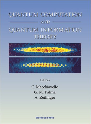 Quantum Computation and Quantum Information Theory