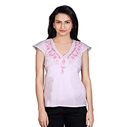 Tantra Grace Women's Top, Light Pink, Medium