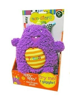 Sassy Nonsters Appy-appy Giggling Plush - 1