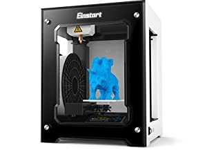 2017 est High Performance Shining 3D Einstart-S Desktop 3D Printer (Alloy Framework, High Accuracy, Stability and Speed, Large Build Size) by Shining 3D
