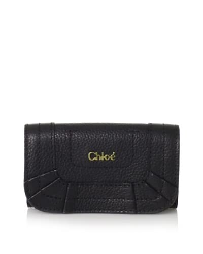 Chloé Women's Key Wallet  - Black